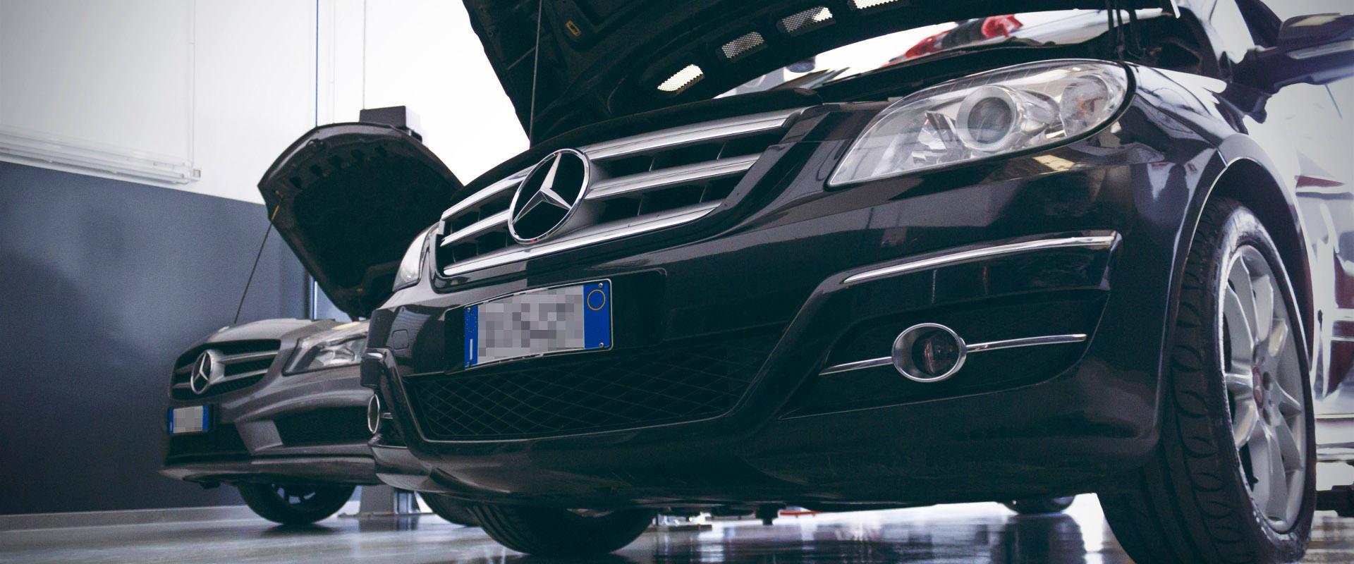 Officina specializzata Mercedes e Smart